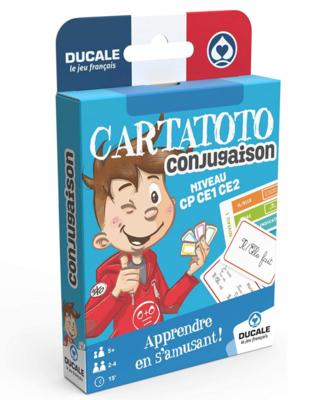 DUCALE CARTATOTO CONJUGAISON JEUX  3114520065245 JEU EDUCATIF JOUET CARTE FAMILLE ENFANT DIVERTISSEMENT SOIREE COMASOUND KARTEL CSK ONLINE