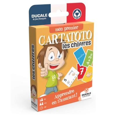 DUCALE CARTATOTO LES CHIFFRES JEUX 3114520065238 JEU EDUCATIF JOUET CARTE FAMILLE ENFANT DIVERTISSEMENT SOIREE COMASOUND KARTEL CSK ONLINE