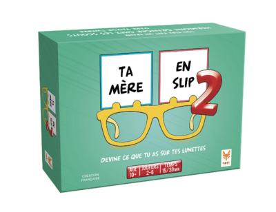 TOPI GAMES TA MERE EN SLIP  2 JEUX 3760089890820 JEU JOUET CARTE FAMILLE ENFANT DIVERTISSEMENT SOIREE COMASOUND KARTEL CSK ONLINE