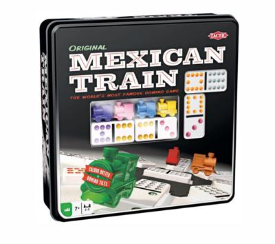 TACTIC  MEXICAN TRAIN DOMINO JEUX 6416739540054 JEU JOUET CARTE FAMILLE ENFANT DIVERTISSEMENT SOIREE COMASOUND KARTEL CSK ONLINE