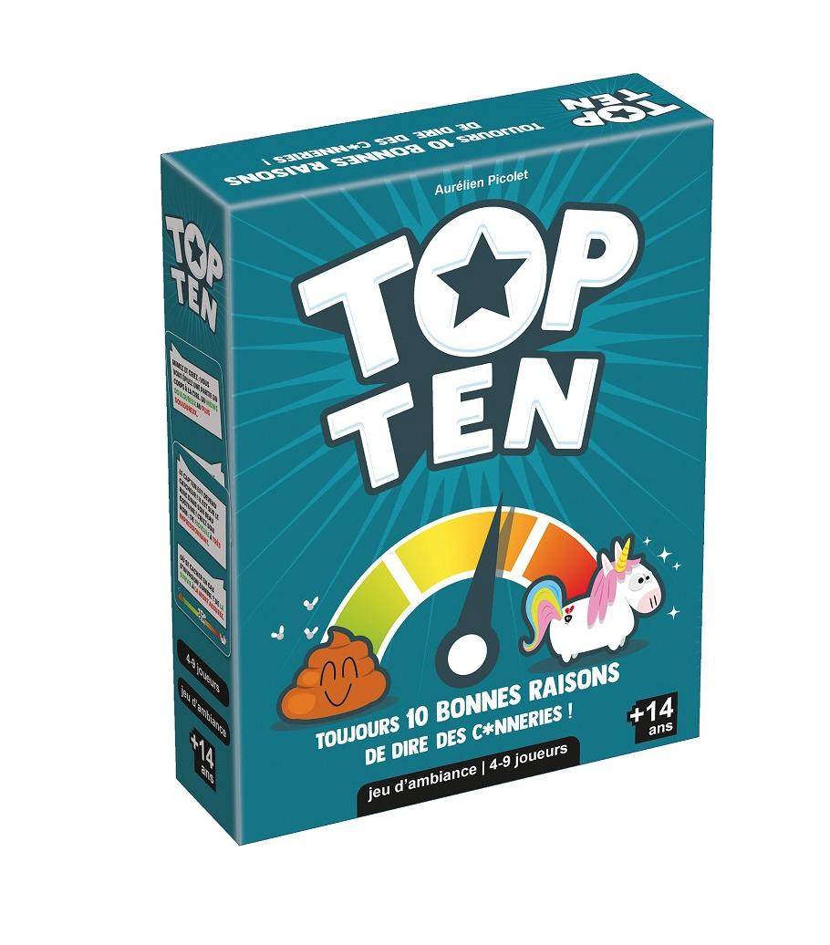 COCKTAIL GAMES TOP TEN JEU SOCIETE ADULTE JEUX JOUET AMUSEMENT 3760052143403 SOIREE DIVERTISSEMENT NOEL ENFANT CARTE PRO NEW COMASOUND KARTEL CSK ONLINE