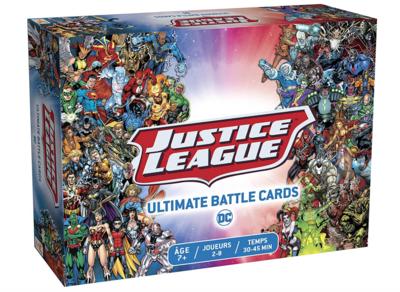 """DC WB JUSTICE LEAGUE """" ULTIMATE BATTLE CARDS '"""" CARTE 3760089890929 JEU JOUET CARTE FAMILLE ENFANT DIVERTISSEMENT SOIREE COMASOUND KARTEL CSK ONLINE"""