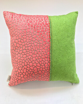"Coral & Capisoli Selvedge"" Scatter cushion"