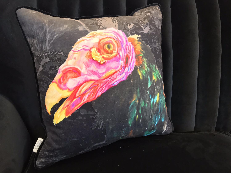 Turkey Vulture Scatter Cushion