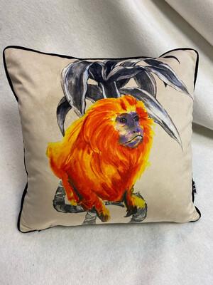 Golden Tamarin/Pardus Scatter Cushion