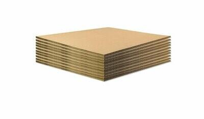 BASE IN CARTONE per ECOPALLET  40x60 cm x 14mm  10 pezzi