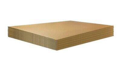 BASE IN CARTONE per ECOPALLET 80x120cm X 14mm 10 pezzi