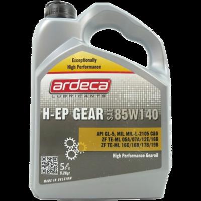 H-EP GEAR 85W140 3X5 L