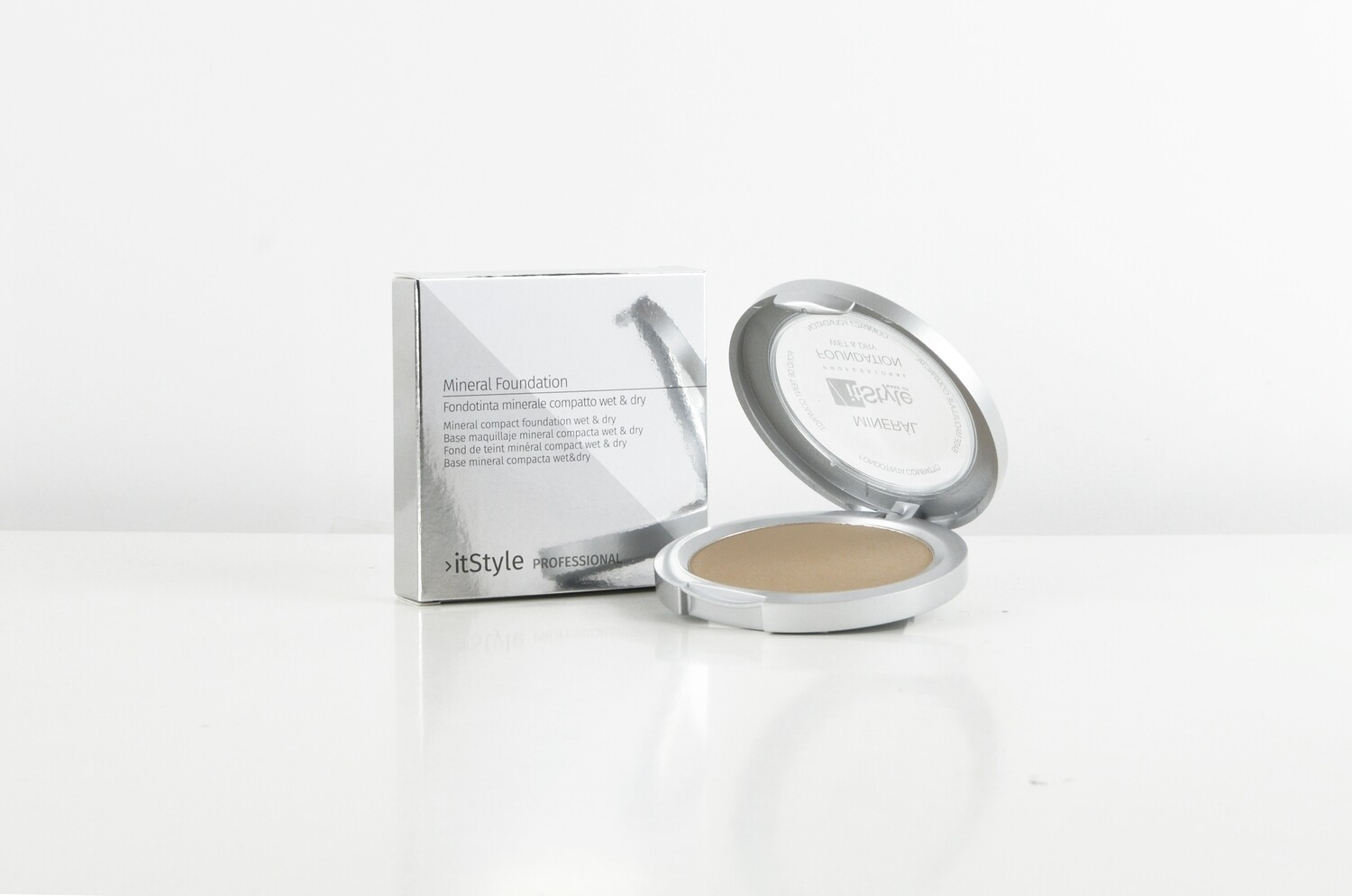 Mineral Compact Foundation Wet&Dry BEIGE FC6/3