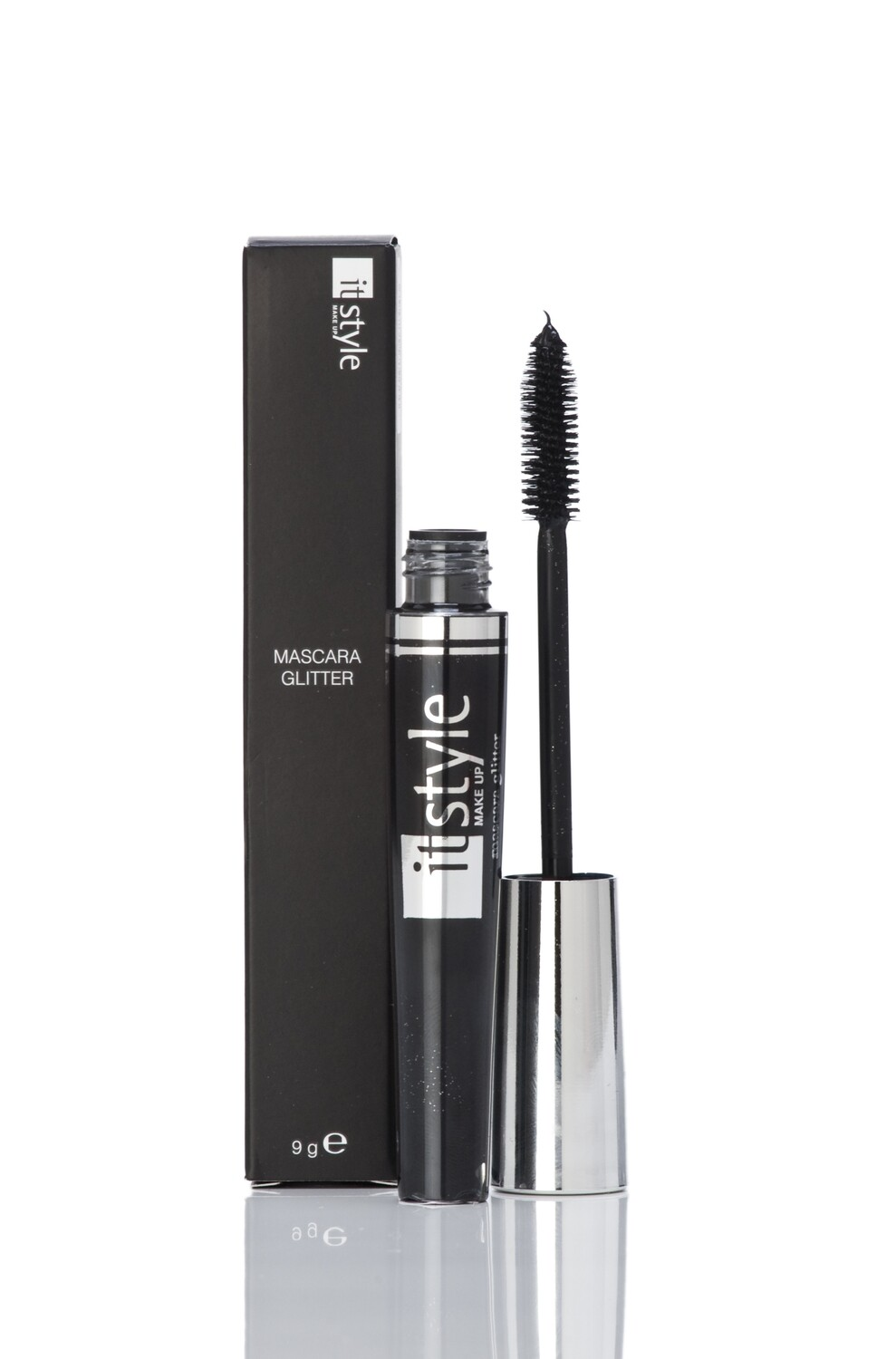 Black Mascara with Silver Glitter MS6