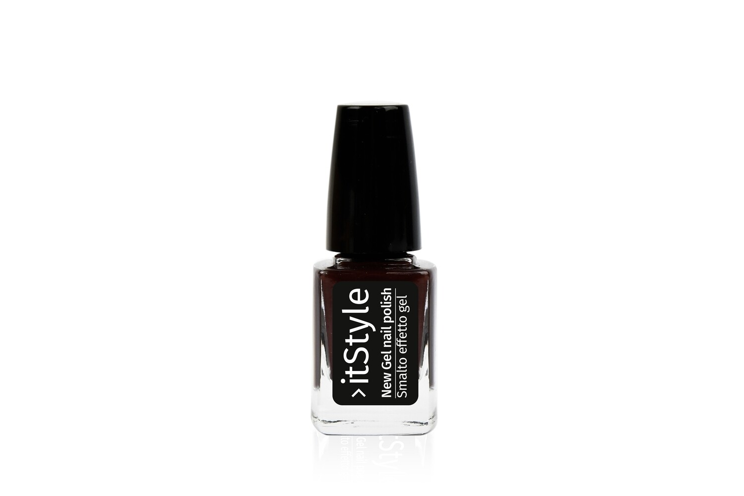 NEW GEL NAIL POLISH ROUGE NOIR SM15/17