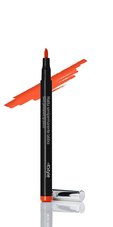 Semi-permanent Lip Liner Pen ORANGE MA10/24