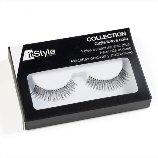 CLASSIC - False Eyelashes with glue (CF38)