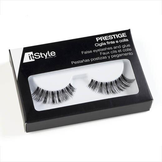 PERFECT LONG - False Eyelashes with glue (CF36)