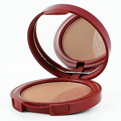 BRONZER + HIGHLIGHTER COL. COOL BRONZE STYLISH LINE TER4/2