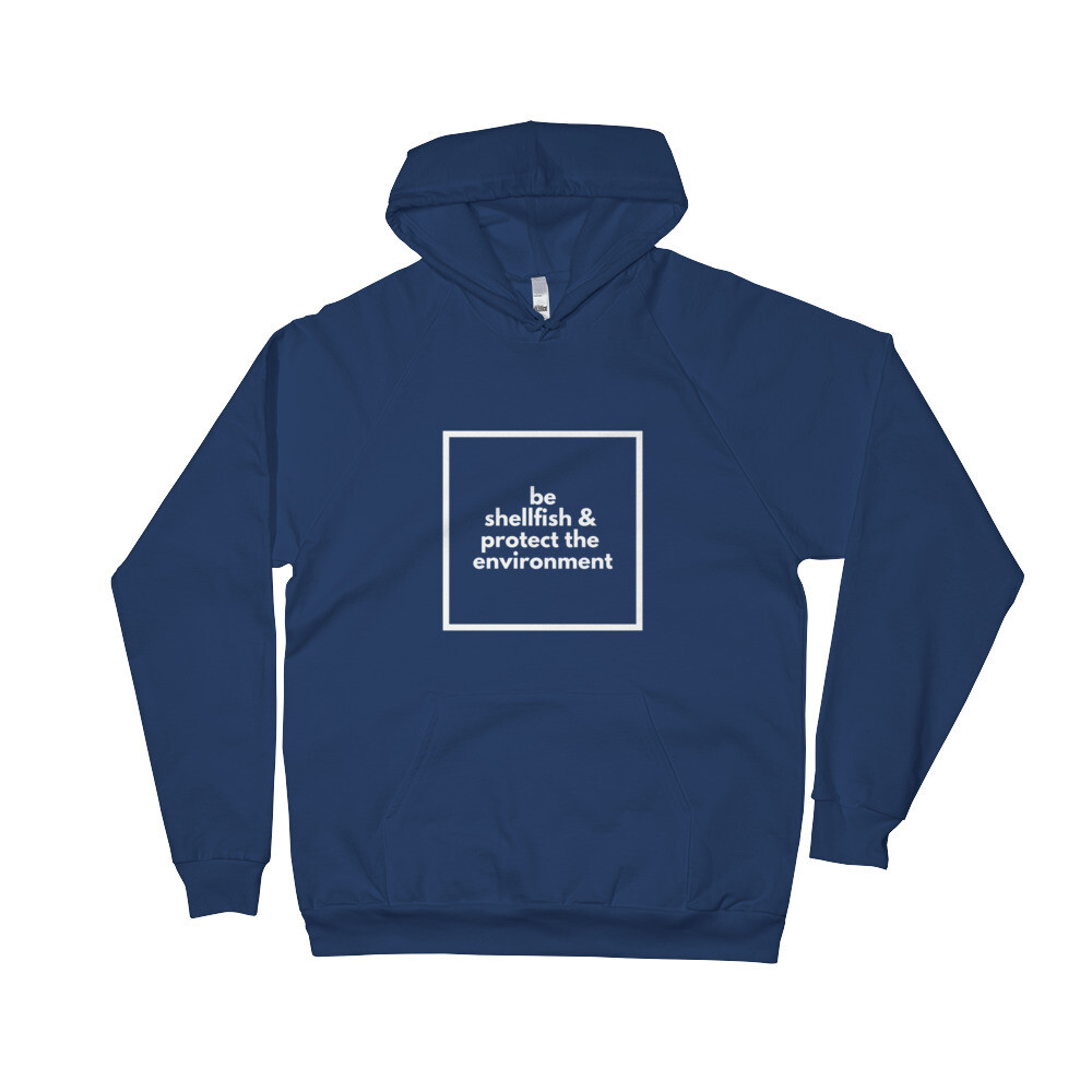 Be Shellfish Men's Fleece Hoodie