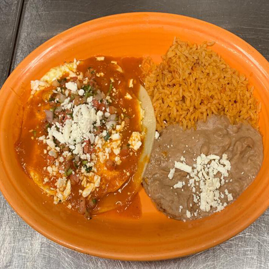 HUEVOS RANCHEROS LUNCH SPECIALS