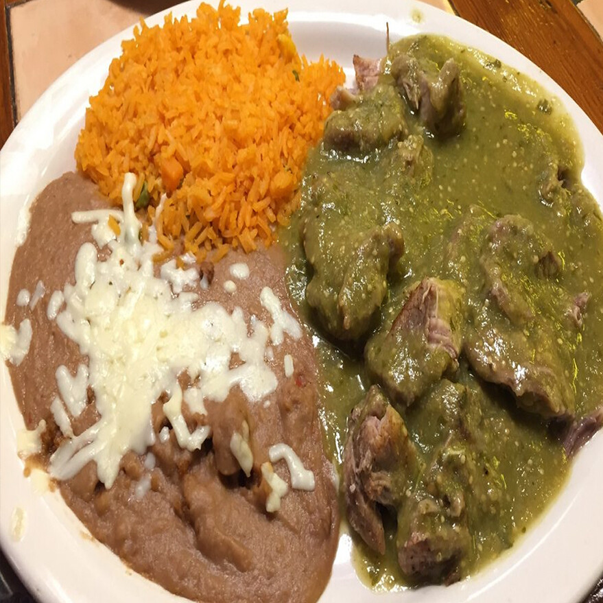 LUNCH  CHILE VERDE