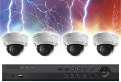 Video Surveillance 4 Camera NVR Bundle