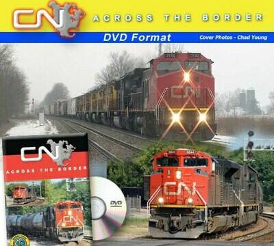 Green Frog CN Across the Border DVD