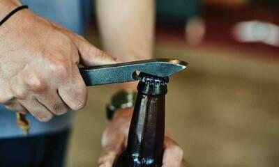 Muirwood Reclamations Railroad Spike Bottle Opener
