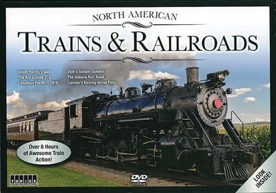 Topics North American Trains & Railroads 6pk DVD