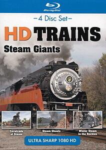 Topics HD Trains Steam Giants 4pk Blu-ray