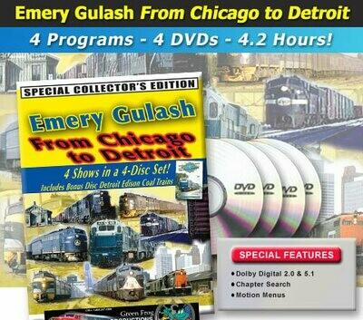 Green Frog Emery Gulash From Chicago to Detroit 4pk DVD