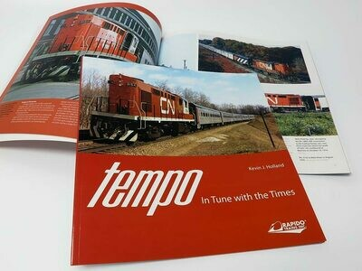Rapido Trains Tempo In Tune with the Times Book by Kevin J. Holland