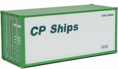 Walthers SceneMaster 20' CP Ships Smooth-Side Container
