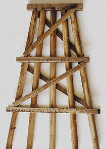 Grand Central Gems Wood Trestle Bents - Assembled -- Medium - 5  12.7cm Tall pkg(5)