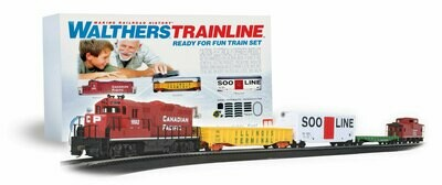Walthers Trainline Ready For Fun Train Set Canadian Pacific