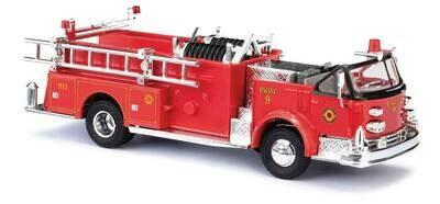 Busch 1968 American LaFrance Open-Cab Pumper  - Fire Department (red, black)