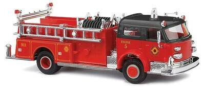 Busch 1968 American LaFrance Closed-Cab Pumper - Fire Department (red, black)