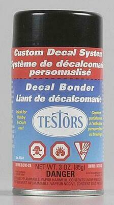 Testor Decal Bonder Refill Spray -- 3oz  88.7ml