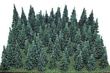 Heki Mini Forest Assorted Pine Trees 1-1/2 to 3
