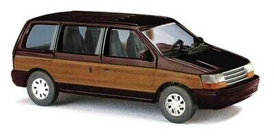 Busch 1990 Plymouth Voyageur - Brown / Woody