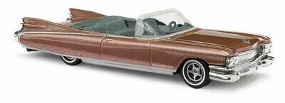 Busch 1959 Cadillac Eldorado Convertible - Assembled -- Metallic Brown