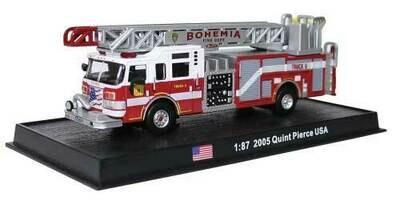 William Tell International 2005 Pierce Velocity Quint 75' Aerial and Pump Fire Truck -  Bohemia, New York Fire