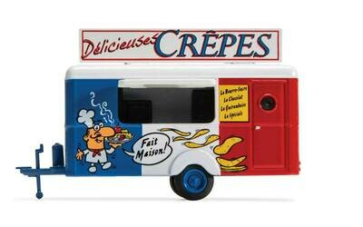 William Tell International Concession Trailer Crepes (blue, white, red, French Lettering)