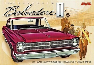 Moebius 1/25 1965 Plymouth Belvedere