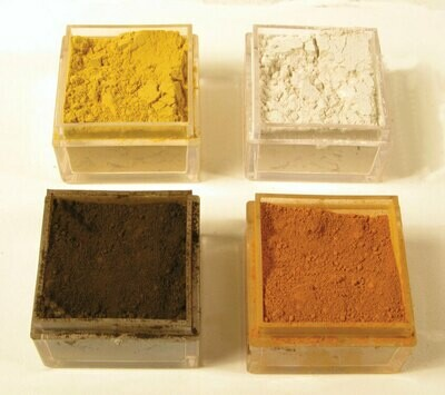 Monroe Model Scenery Mini Weathering Powder Kit Set C