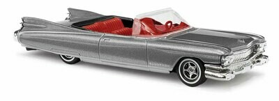 Busch 1959 Cadillac Eldorado Convertible - Assembled -- Graphite