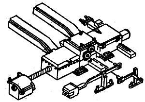 Detail West Switch Motor & Tie Mount