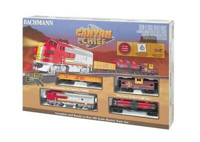 Bachmann Canyon Chief Train Set - Santa Fe