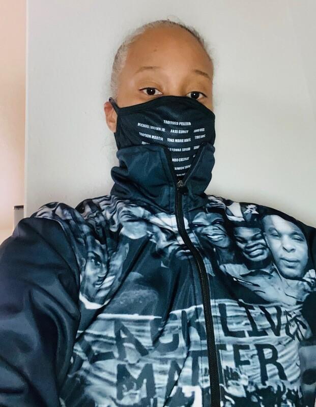 Black Lives Matter Zip up Jacket