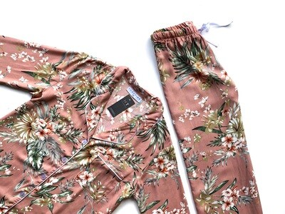 PINK FLORAL - RAYON