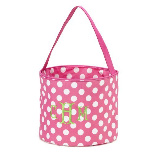 Pink Dot Easter Bucket