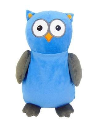 Owl - Grey & Blue