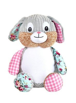 Harlequin Bunny (Pink)